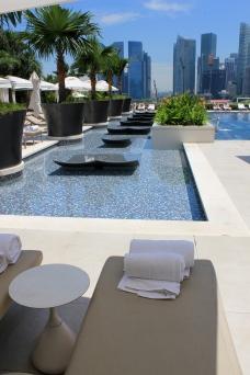 Wellness Oase mitten in Singapore Marina Bay City View