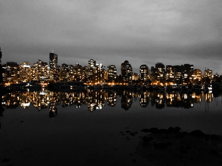 Vancouver by night